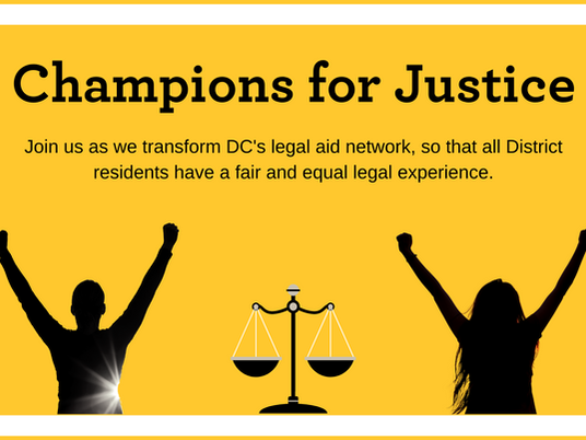 Champions for Justice Kicks Off October 25