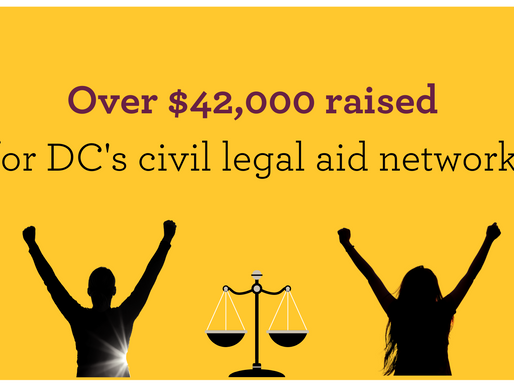 THANK YOU! To our 2020 Champions for Justice