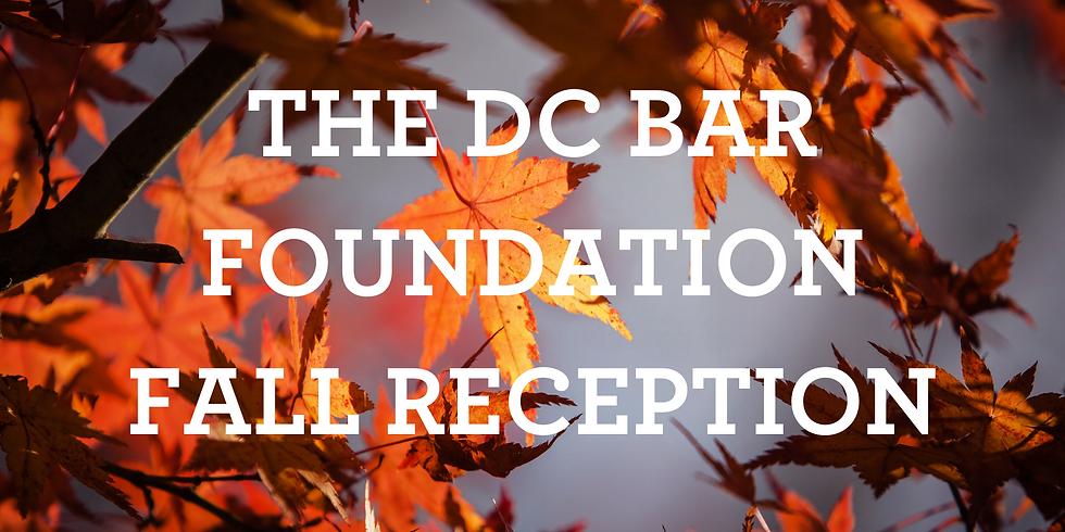 DC Bar Foundation's Fall Reception