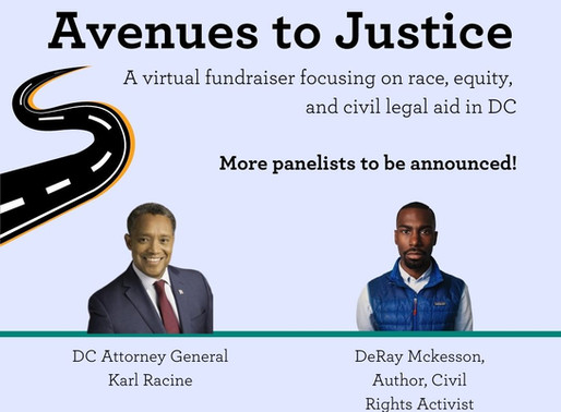 Join the Young Lawyers Network Leadership Council for Avenues to Justice on October 8