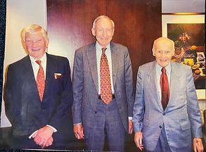 Jerrold Scoutt, Raymond Rasenberger, and Eugene M. Zuckert-Firm Founders.jpg