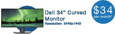 "HaaS - 34"" Monitor"