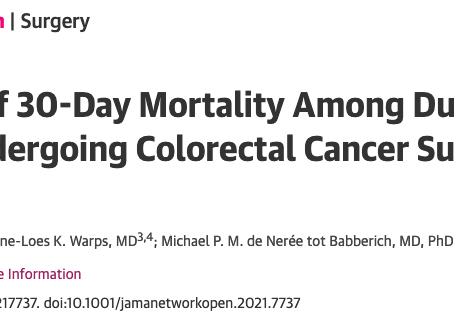 What are risk factors for adverse events in colorectal surgery?
