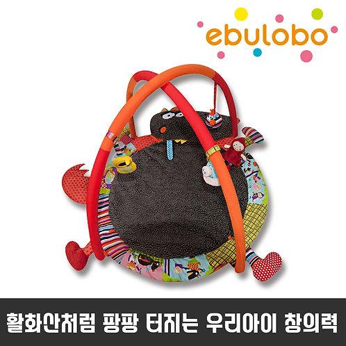 [에불로보] Ebulobo Wolf Playmat louloup  울프 룰루 양탄자 플레이 매트