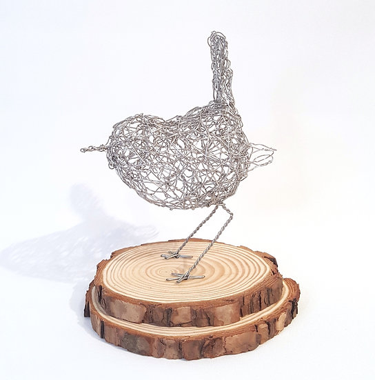 Wren Wire Sculpture