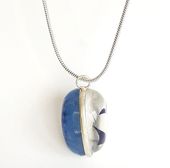 Small Double Sided Resin Dome Pendant