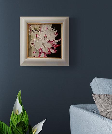 'Bridget's Dahlia' Oil Painting