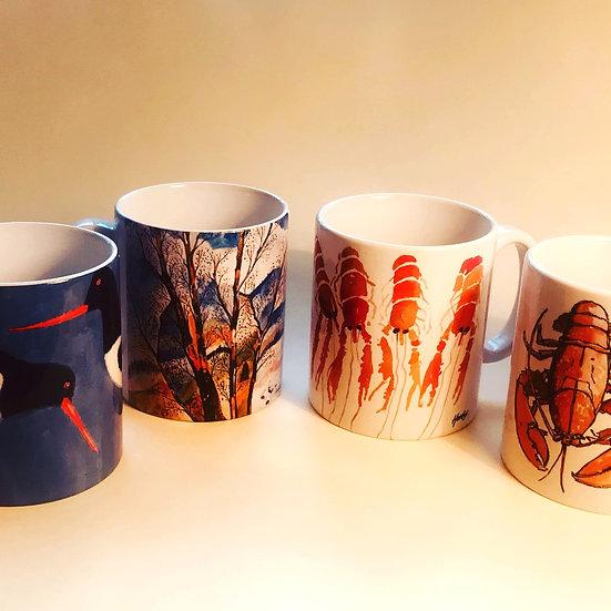 Illustrated Mug