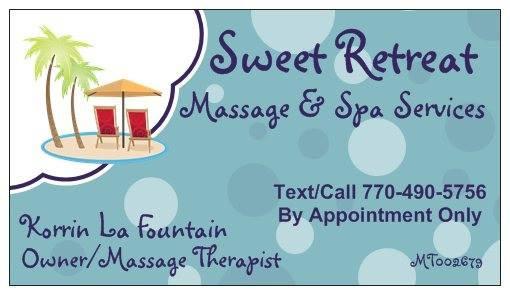 Sweet Retreat Massage & Spa Services