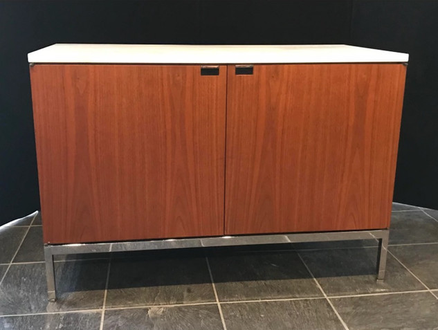 Florence Knoll Credenza with finished back