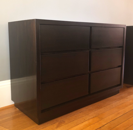 James Mont chest of drawers