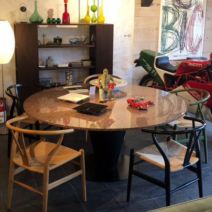 Cono Dining Table by Joe D'Urso