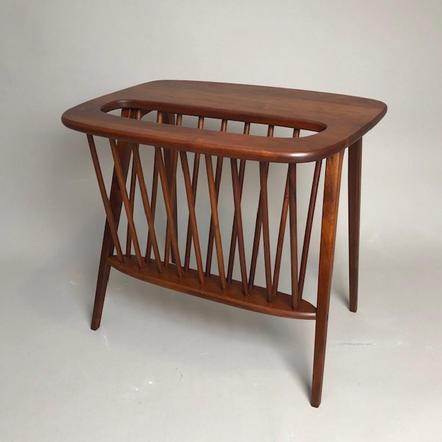 Walnut table by Arthur Umanoff