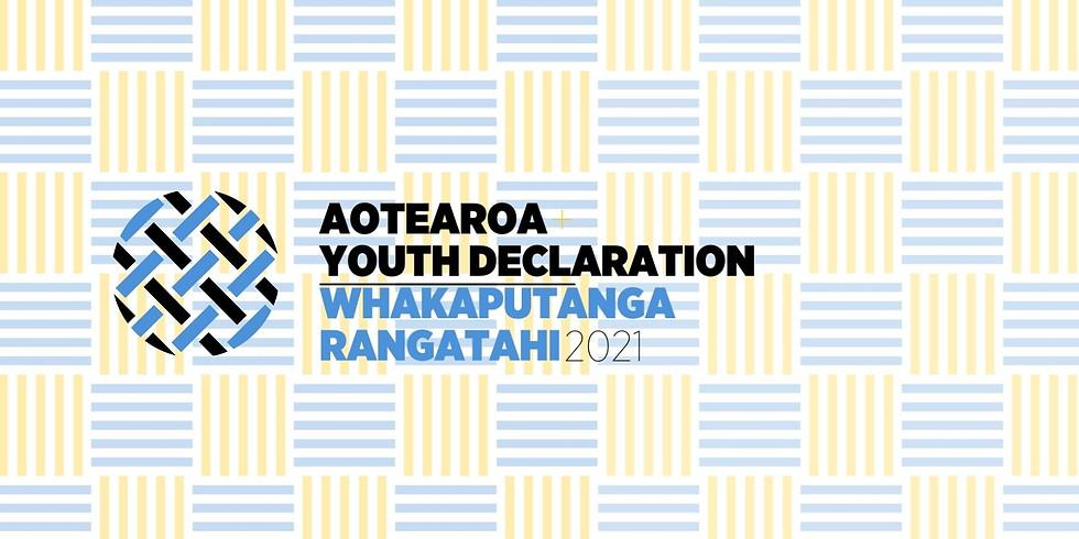 Aotearoa Youth Declaration - Volunteer Registrations