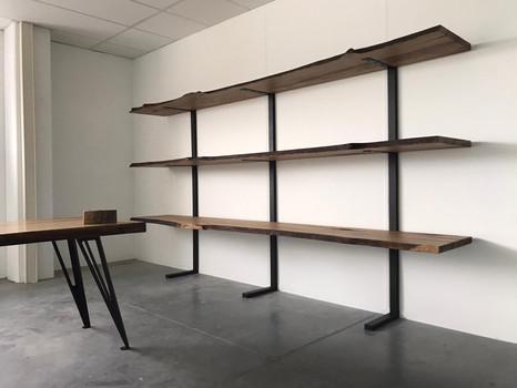 Bureaurek kastanje planken