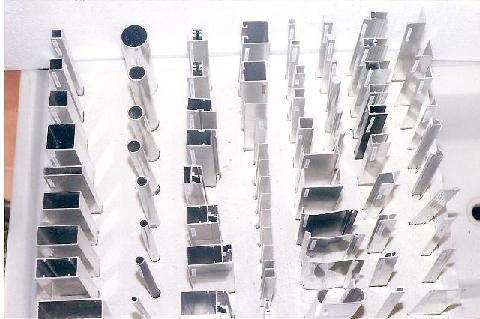 Perfis de alumínio