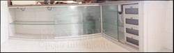 Gabinete em vidro