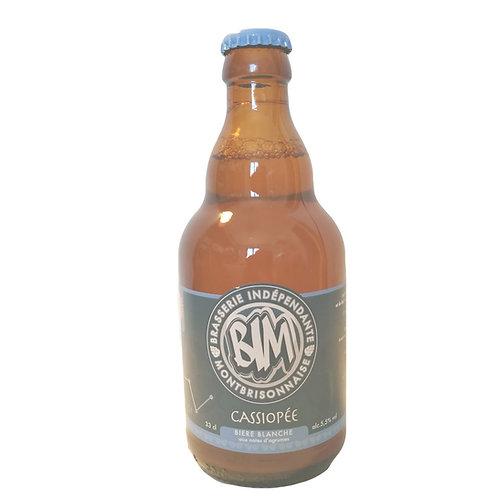 """""""Cassiopée"""" 33cl  bière blanche       alc: 5,5%vol"""