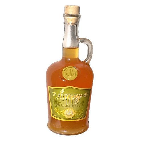 """""""HOPPY""""  75cl.  liqueur de houblon   alc.16%vol"""