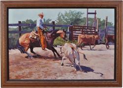 Cutting Horse Rider