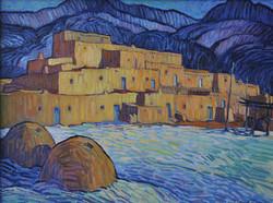 Taos Pueblo Hornos