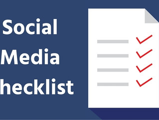 A Social Media Checklist for Your Crisis Communications Plan