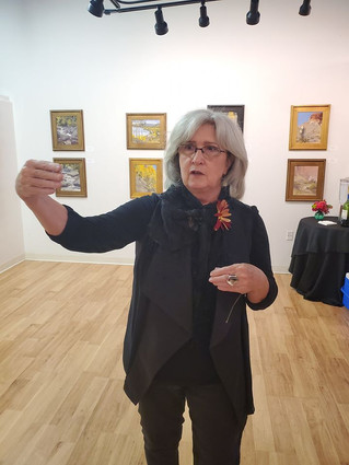 Art Exhibit for Landscape Artist Donna F. McGee A Success
