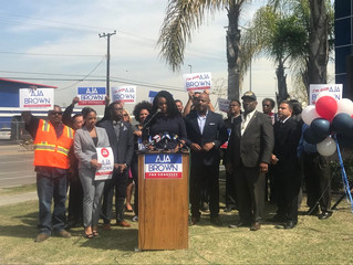 Compton Mayor Aja Brown Announces Run For Congress