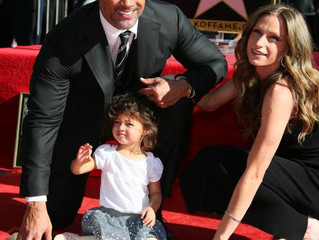 The Rock unveils his Hollywood Walk of Fame star