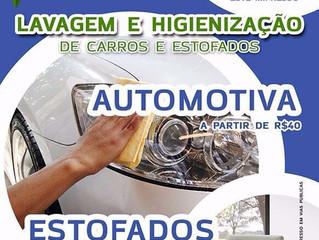Lavagem Automotiva e de Estofados