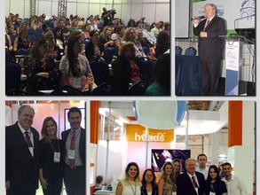 Clínica Heads marca presença no 14o   Congresso Paulista de Pediatria em São Paulo