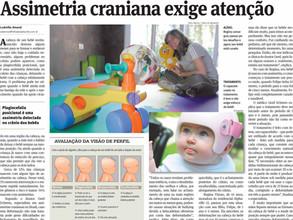 Assimetria craniana exige atenção – Folha de Alphaville.