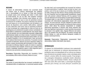 """""""Tratamento de Plagiocefalia e Braquicefalia Posicionais com órtese craniana: estudo de caso"""" -  Rev"""