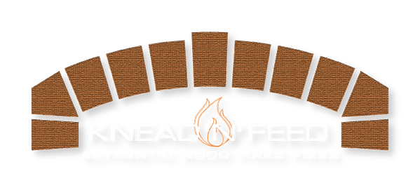 Knead'n'Feed Logo mobile pizza caterer