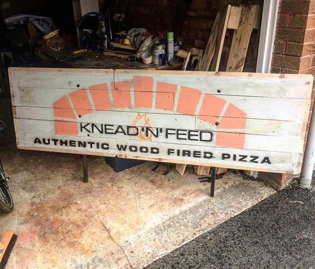 Knead 'n' Feed mobile catering pizza Yorkshire Leeds Harrogate