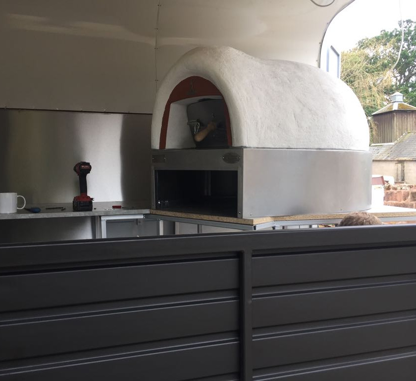 Mobile Catering wood fired pizza