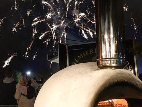 Bonfire Night pizza!
