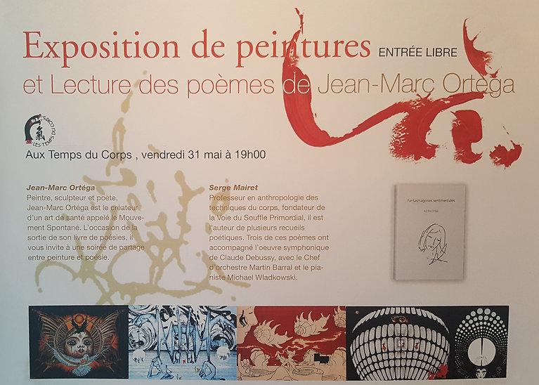 Exposition peinture Jean-Marc Ortéga