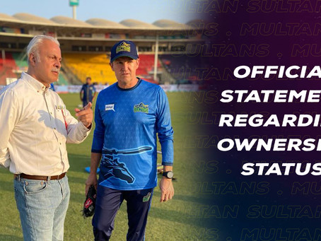 Official Release Regarding Ownership Structure of Multan Sultans