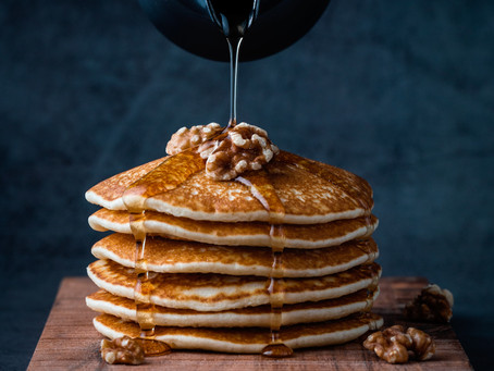 Morning with Pancakes