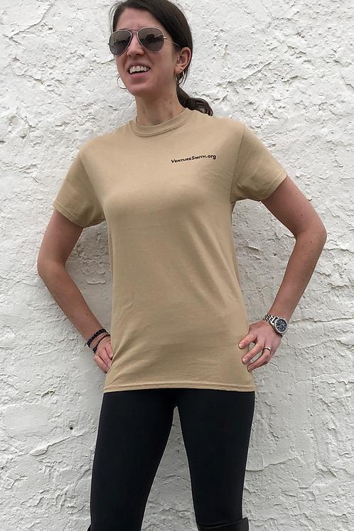 Tan - Sloop Logo T-Shirt
