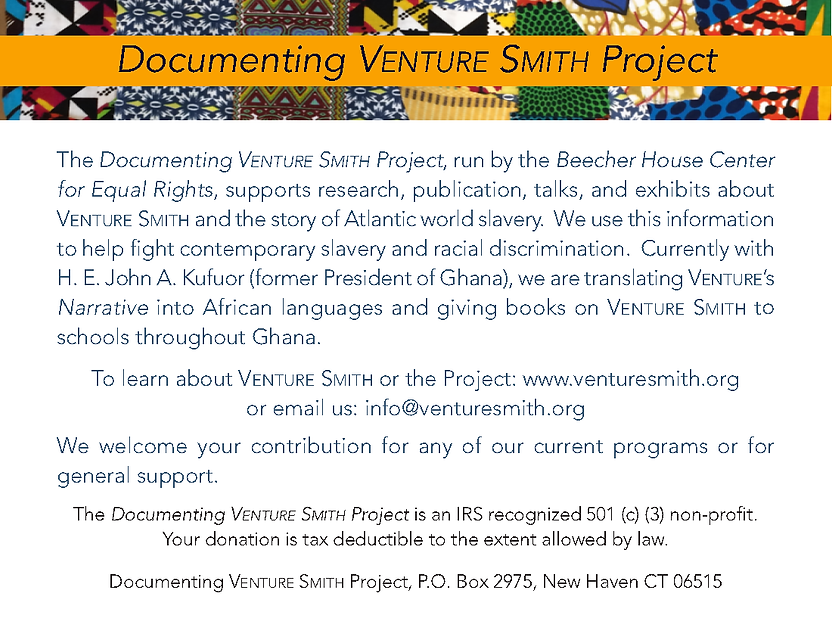 Documenting Venture Smith Donor Card.png