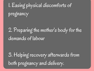 How osteopathy can help you during and after pregnancy!
