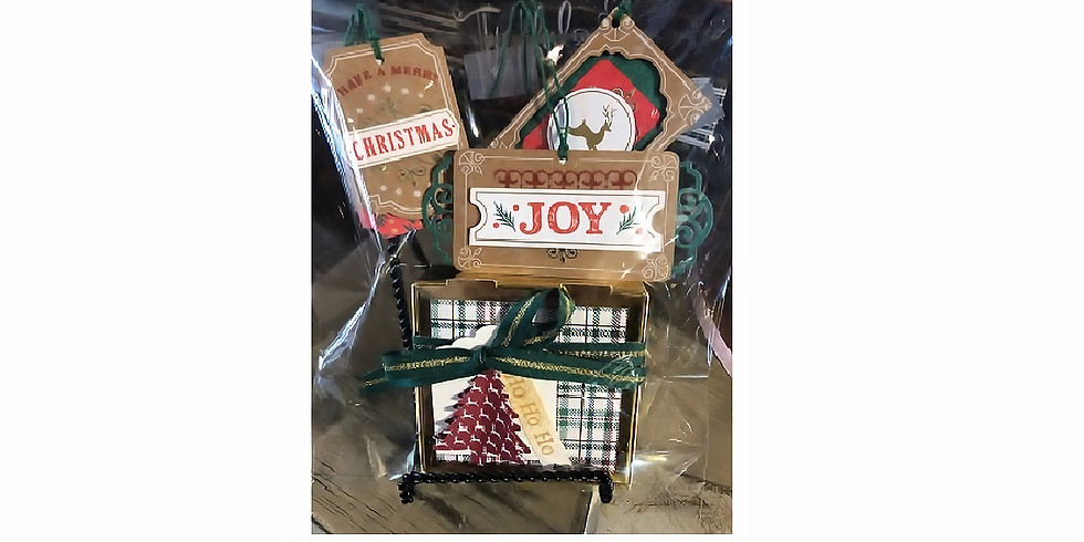 Stampin' Up Card & Gift Tag Making Class
