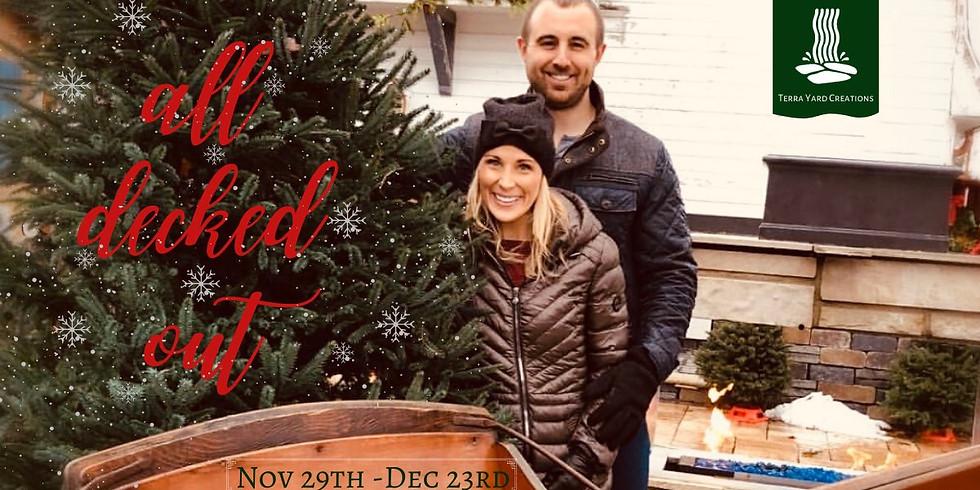 Christmas Tree Lot at The Barn