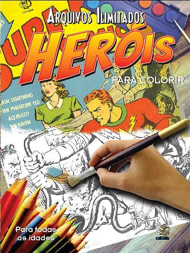Arquivos Ilimitados para colorir: Heróis