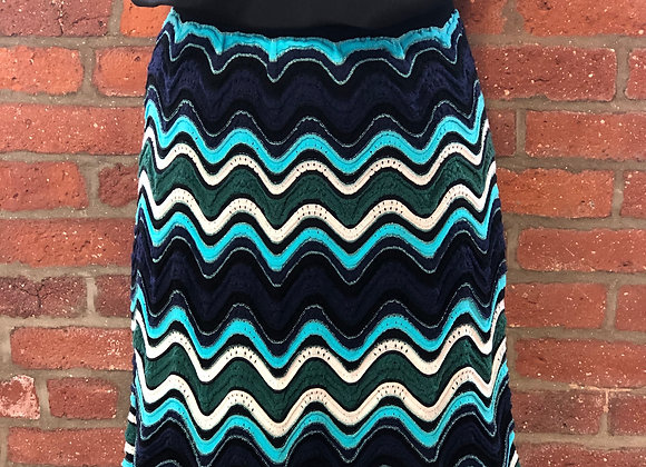 M Missoni Knit Skirt, Size 8