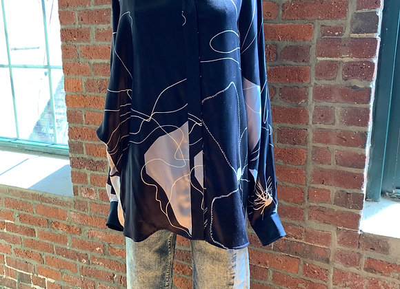 Max Mara Silk Blouse, Size M/L