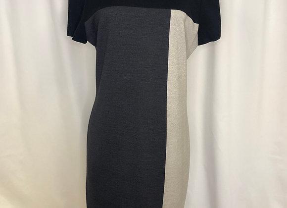 St. John Knit Color Block Dress