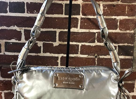 Kate Spade Silver Shoulder Bag